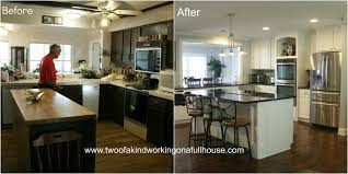 Kitchen Remodeling Before And After Kitchen U Shaped Remodel Ideas Before And After Pantry Staircase