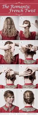 French Twist Hair Style 5 fantastic french roll hairstyle steps harvardsol 2025 by stevesalt.us