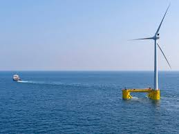 Innovation In Wind Turbine Design Offshore Wind Farms To Test Business In Deep Water Horizon