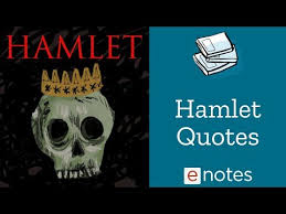 Hamlet Quotes Magnificent Hamlet Quotations YouTube