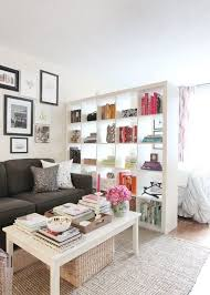 Jackie's Stylish Upper East Side Studio. Small Apartment InteriorStudio  Apartment DividerTiny ...