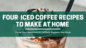 Now, get your milk out of the refrigerator and pour the milk of your choice in the aerochinno milk frother and turn the machine on. Four Delicious Iced Coffee Recipes To Make At Home Using Your Nespresso Or Caffitaly Espresso Machines The Green Pods