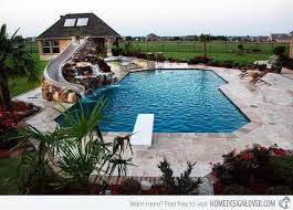 pool designs with slides. Unique Designs 15 Beautiful Swimming Pool Slides  Interior Design Wiki For Designs With