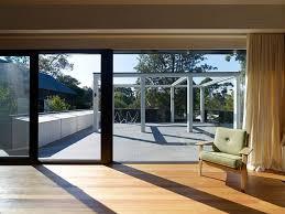 stunning oversized sliding glass doors with large patio door window treatments