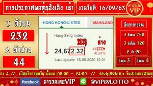 ถ่ายทอดสดผลหวยหุ้นฮั่งเส็ง เช้า งวดวันที่ 16 กันยายน 2563 ตรวจผลหวยหุ้น ฮั่งเส็ง เช้า วันนี้ - YouTube