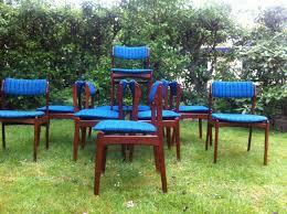 od49 teak dining chairs by erik buch for poul dinesen 1970s set concept teak