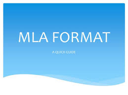 Mla Format For Powerpoint Tirevi Fontanacountryinn Com