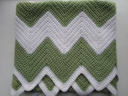 Sharp Chevron Crochet Pattern Interesting Design Inspiration