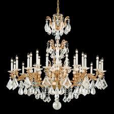 schonbek lighting 5413 27 la scala rock crystal 24 light 110v chandelier in parchment gold