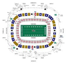 Jacksonville Jaguars 3d Seating Chart M T Bank Stadium Diagrams Baltimore Ravens