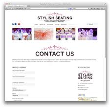 stylish page stylish seating contact us page swearingdad design