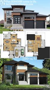 Modern 3 Bedroom House Floor Plans Plan 86039bw Master Down Modern House Plan With Outdoor Living