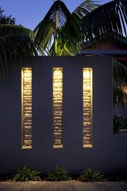 feature wall lighting. Feature Walls Pillars - The Garden Light Company Photo Gallery Gardening Trips Wall Lighting