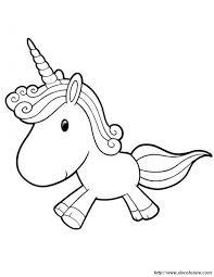 Disegni Da Colorare Per Bambini Unicorno Fredrotgans