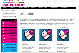 A5 Leaflet Printing That Is Cheap Affordable And Meets Your