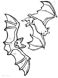 Kleurplaat Vleermuis Color Me Pretty Halloween Bat Coloring