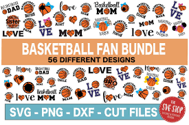 Basketball Svg Designs Basketball Fan Svg Bundle Svg Cut File Svg Dxf Png Eps Formats Clipart