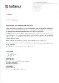 letter for job recommendation job training recommendation letter