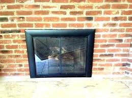 replacing fireplace doors lovely glass front fireplace doors chimney glass door fireplace repair fireplace door chimney