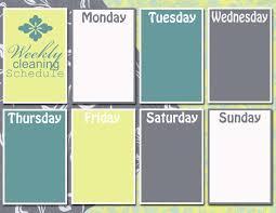 Blank Weekly Calendar Monday Through Friday Magdalene