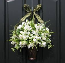 front door decorfront door bow decorations  Latest Home Decor and Design