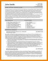 11 Business Analyst Resume Objective Letter Signature
