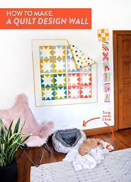 How to Make a Quilt Design Wall - Suzy Quilts & Quilting-Design-Wall Adamdwight.com
