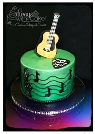 acoustic guitar cake template printable best of cake design guitar for fondant template acoustic printable
