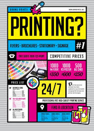 Discount Flyer Printing Free Flyer Printing Under Fontanacountryinn Com