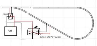 loop wire diagram model railroad wiring wiring for model railroad track reversing loop