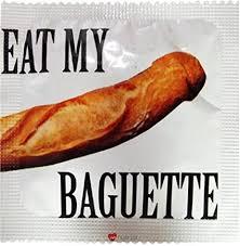 I LUV LTD <b>Eat My Baguette</b> Novelty Condom: Amazon.co.uk ...