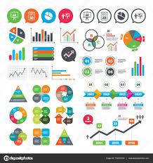 Chart Presentation Images Diagram Graph Pie Chart Presentation Billboard Stock