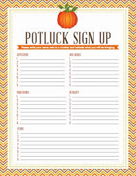 Potluck Flyer Template Free Rosejuice Info