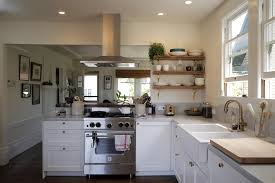 Kitchen Redesign Mill Valley Kitchen Redesign Mixes White And Dark Walnut San