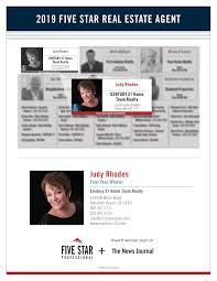 Judy Rhodes 2019 Delaware Five Star Real Estate Agent - Flipbook by Five  Star Professional | FlipHTML5