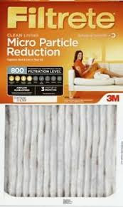 Details About 3m Filtrete Micro Particle Reduction Air Furnace Filter Level 800 10x20x1