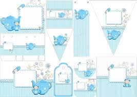 Tea Party Free Printables Cute Tea Party Free Printable Kit Oh My Fiesta In English