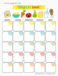 monthly meal planner template 30 family meal planning templates weekly monthly budget tip