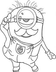 Small Picture Minion Coloring Pages Disney Coloring Pages Pinterest Google