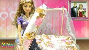 Đồ chơi trẻ em Bé Na & Búp bê Barbie Ken tập 18 Giường ngủ Baby Doll Bed  Kids toys - Vidéo Dailymotion