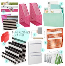 organizing office ideas. 30 great home office organizing tools via designsponge sexy supplies ideas