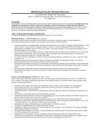 Cover Letter Marketing President Resume Marketing Executive Resume