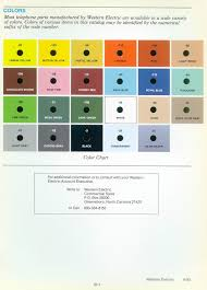 we color chart2 jpg out what color and color code number your phone is i bet you didn t know there was more than one hue of yellow made there were four yellow hues
