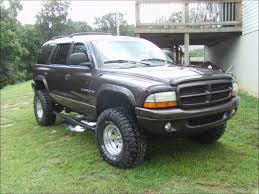 My lifted 98 dodge durango with 33's - YouTube