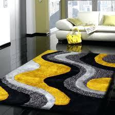 grey and yellow rug yellow grey and black rug grey and yellow area rug 8x10