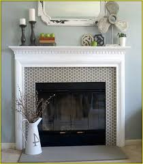 tile fireplace surround designs