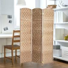 resin room dividers 3 panel wicker folding divider indoor privacy screen home screens rooms rattan partition