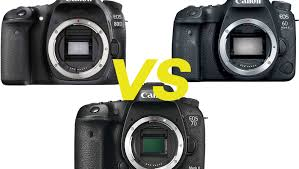 Canon Dslr Camera Comparison Chart 2017 Canon 6d Mark Ii Vs 80d And 7d Mark Ii In Depth Review