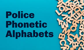 The phonetic alphabet comprised of words used to identify letters in a message transmitted by radio or telephone. Police And Military Phonetic Alphabet Codes Language Of Leos