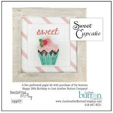 Sweet Cupcake Perforated Paper Kit Just Another Button Company